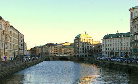 Göteborg city center