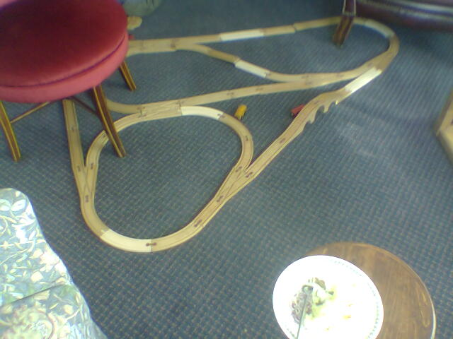 You`ll just have to extrapolate under the chair