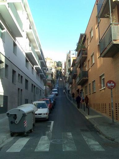 Escalator to Park Guell