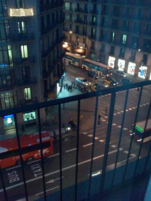 Hotel view from room 1