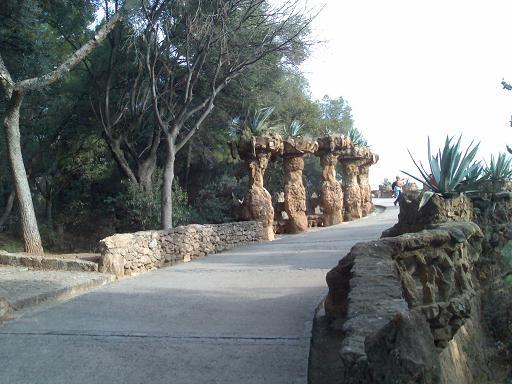 Park Guell causeway