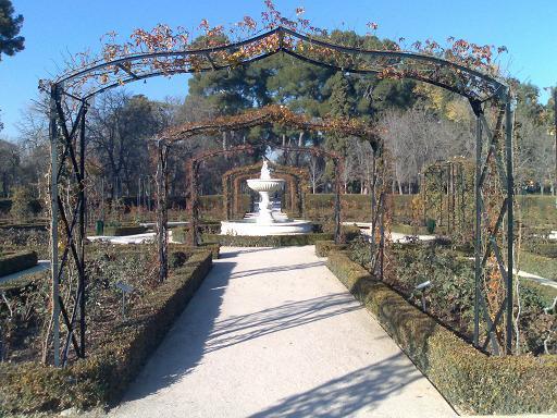 Retiro garden