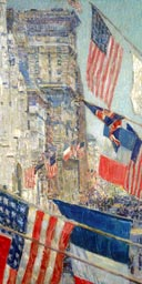 Frederick Childe Hassam: Allies Day