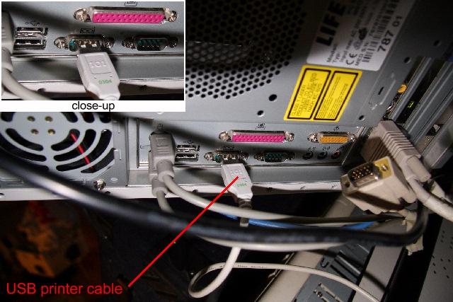 USB printer