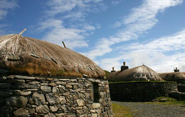 The village of Gearrannan