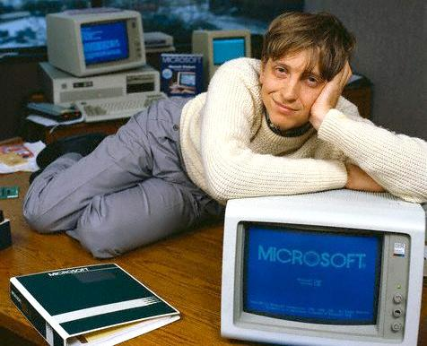 Bill Gates in Teenbeat