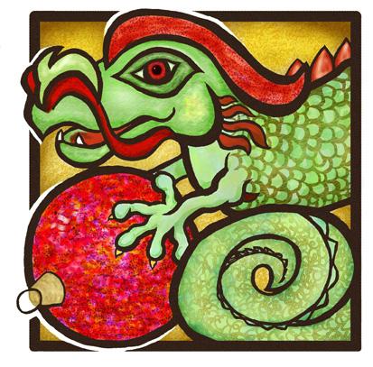 Merry Christmas Dragon!