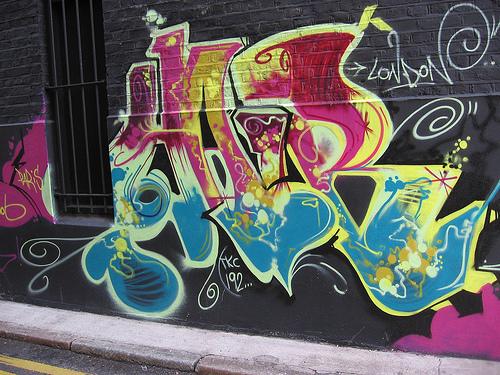 Some graffiti