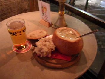 Supa í brauði