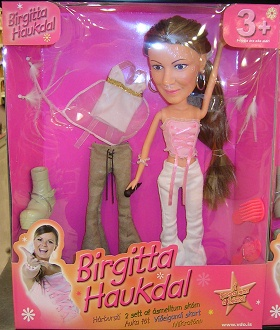 Birgitta Haukdal doll